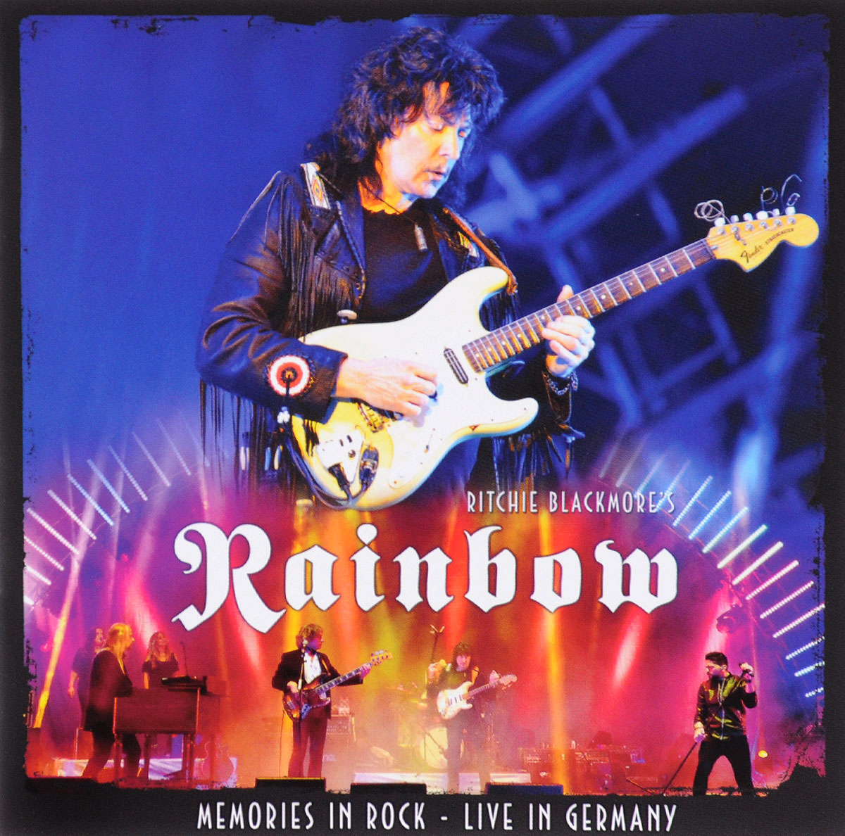 Rainbow Rainbow. Memories In Rock. Live In Germany (2 CD) rainbow rainbow down to earth deluxe edition 2 cd