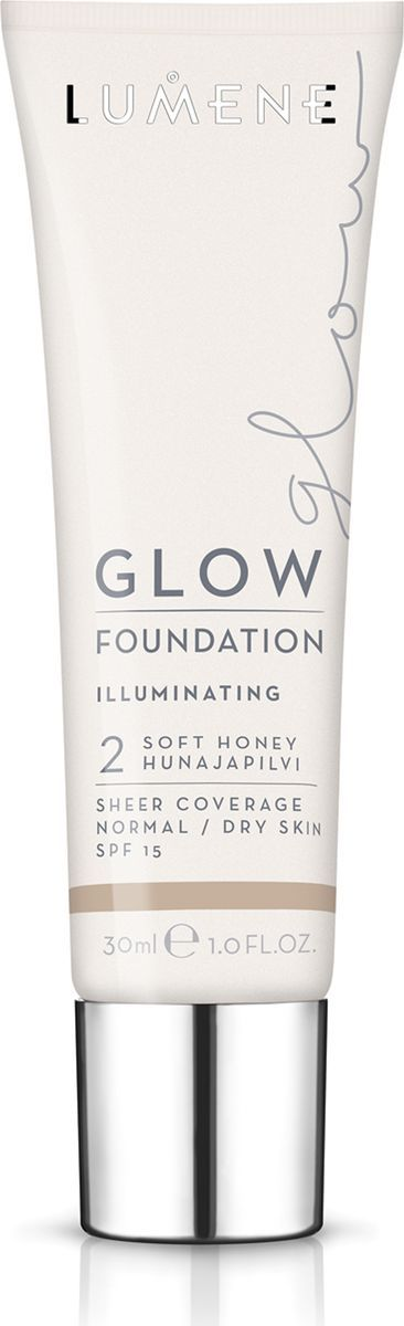 Lumene Glow SPF 15 Придающий сияние тональный крем № 2, 30 млNL290-82773Увлажняющая тональная основа с легким покрытием выравнивает тон кожи и придает естественное сияние. Обладает защитой от UV-лучей. Придает коже естесственное сияние. Подходит для сухой и нормальной кожи. Оттенок 2.