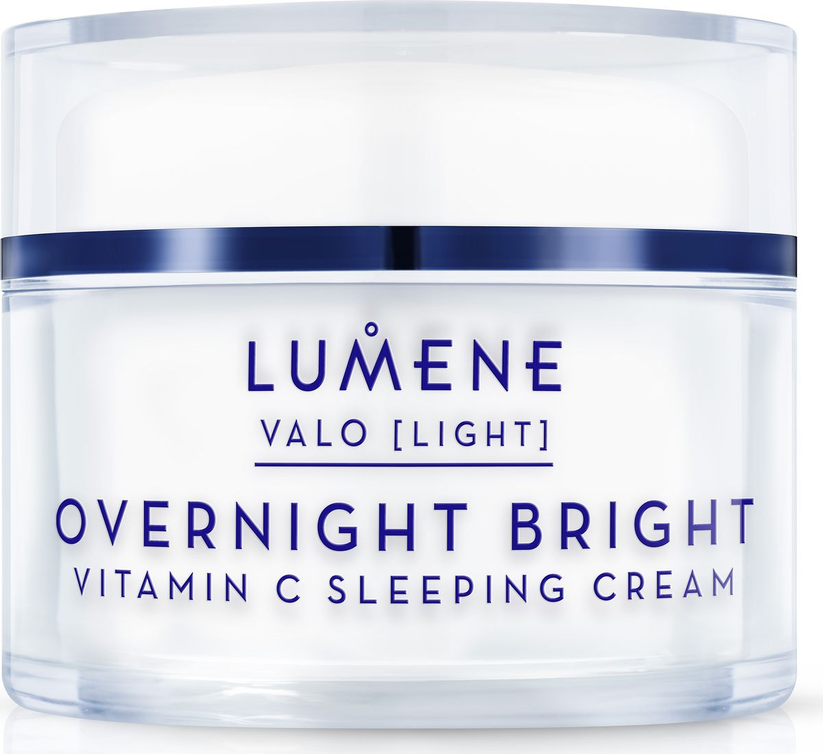 Lumene Valo Восстанавливающий крем-сон Vitamin C, 50 мл lumene lahde hydration recharge overnight cream крем ночной увлажняющий восстанавливающий 50 мл