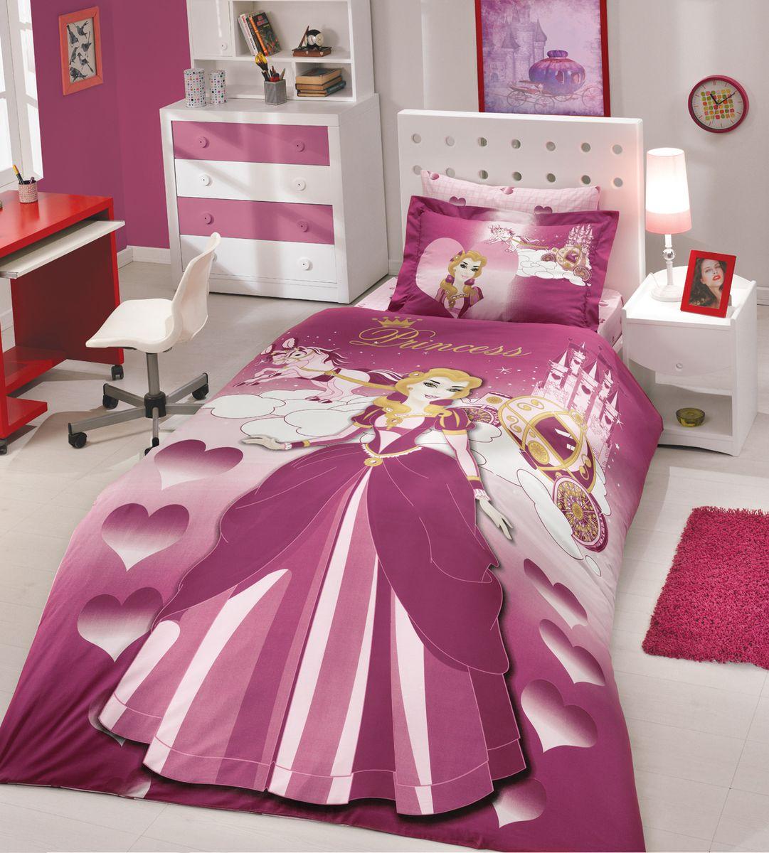 Комплект белья Hobby Home Collection Lady, 1,5-спальный, наволочка 50х70, цвет: бордовый1501000128Комплект постельного белья Hobby Home Collection изготовлен из высококачественного поплина. Поплин - это ткань, изготавливаемая традиционным полотняным плетением из 100% хлопка, но из нитей разного калибра, за счет чего полотно получается с легким рубчиковым рельефом. По многим характеристикам ткань похожа на бязь, но на ощупь гораздо приятнее — более гладкая и мягкая. Поплин обладает лучшими свойствами ткани для постельного белья. Он плотный и в то же время мягкий на ощупь, износостойкий, немнущийся, гигроскопичный и неприхотливый в уходе, а после стирки практически не нуждается в глажке. Поплин обладает множеством преимуществ: - белье из него плотное, прочное и износостойкое; - не выцветает и не сминается; - не линяет и не деформируется (при стирке до 40°С); - натуральный хлопок в составе обеспечивает абсолютную гигиеничность постельного белья; - поплин хорошо вентилируется и впитывает влагу, отводя ее излишки от тела. По легенде этот материал впервые произвели во французской резиденции Папы Римского, городе Авиньон. За это ткань назвали поплином, что означает папский. С тех пор, вслед за Европой, полотно покорило весь мир, и на сегодня это самый востребованный материал для постельного белья. Постельное белье имеет 3D рисунок. Это объемный рисунок, который позволяет увидеть изображение более реальным, живым. 3D печать на постельном белье невозможна простым способом. Для достижения высокого качества применяется Digital textile printing (англ. Digital textile printing - прямая цифровая печать по текстилю) — способ нанесения изображения на ткань, предполагающий прямую реактивную печать. Сам вид такой печати обеспечивает долговечность нанесенного изображения. На ткань, наносится ультрачеткое и яркое 3D изображение, вследствие чего картинка выглядит очень реалистично. Просматриваются даже самые мелкие детали. Постельное белье из поплина способно не только создать идеальные