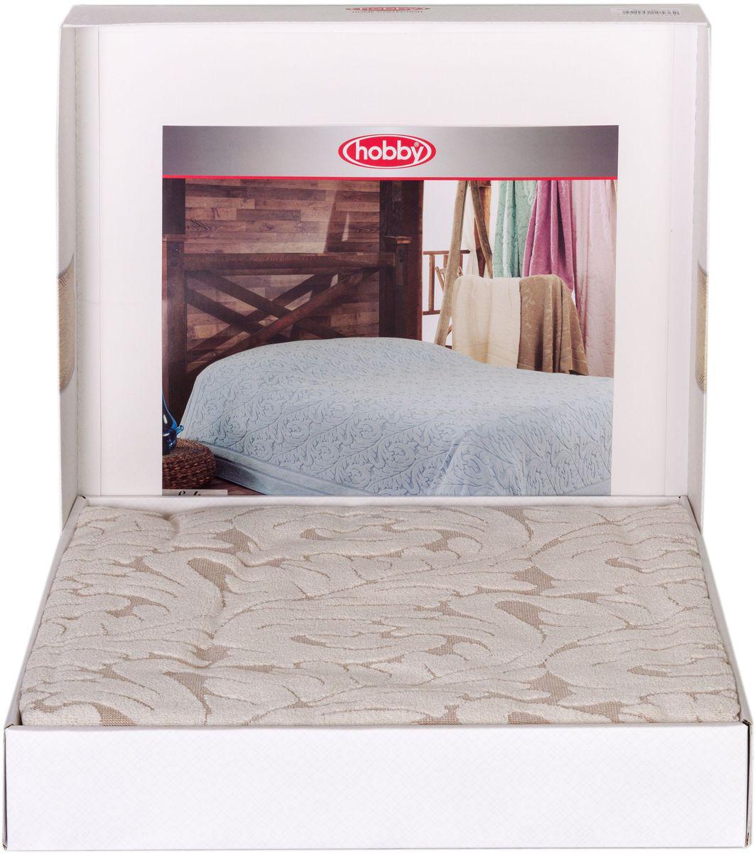 Покрывало Hobby Home Collection Sultan, цвет: кремовый, 200 х 220 см1501001008Шикарное покрывало Hobby Home Collection Sultan изготовлено из 100% хлопка высшей категории. Оно обладает замечательными дышащими свойствами и будет хорошо смотреться как на диване, так и на большой кровати. Данное покрывало можно также использовать в качестве одеяла.