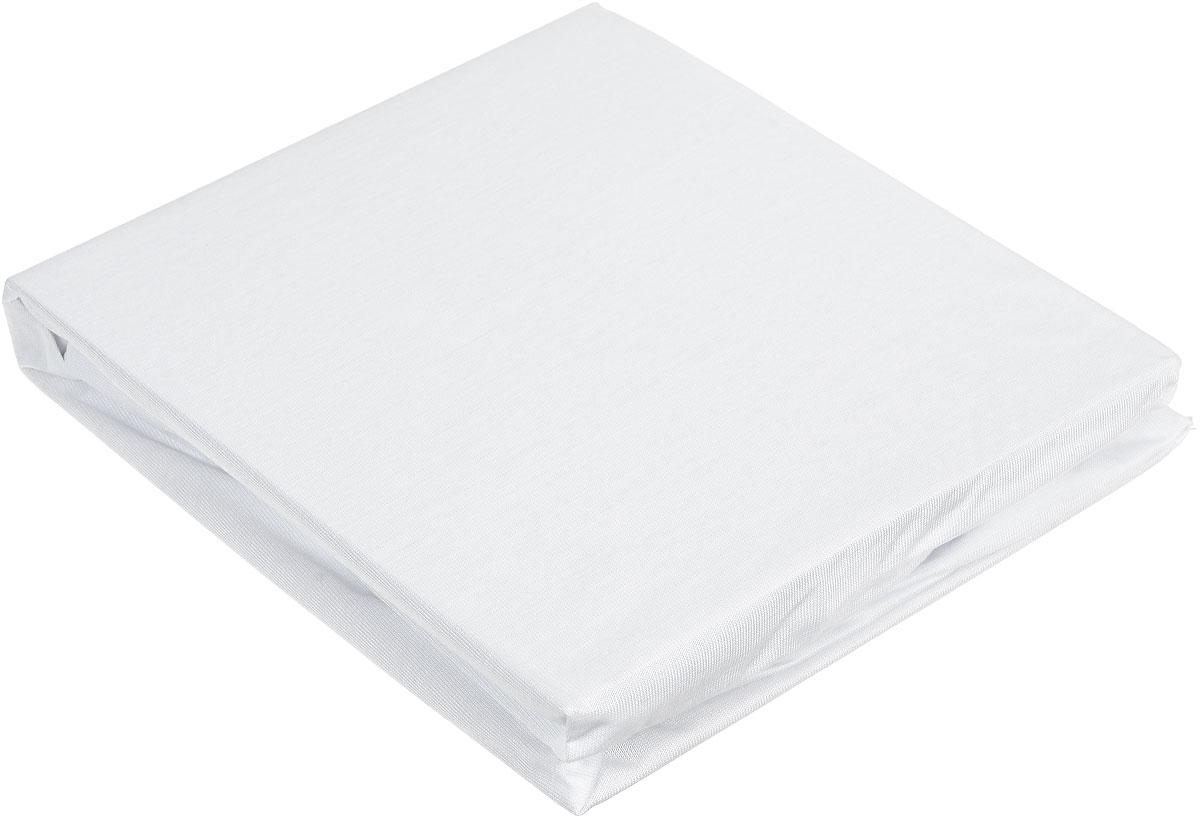 """Простыня Hippychick """"Tencel"""", на резинке, непромокаемая, цвет: белый, 60 см х 120 см"""