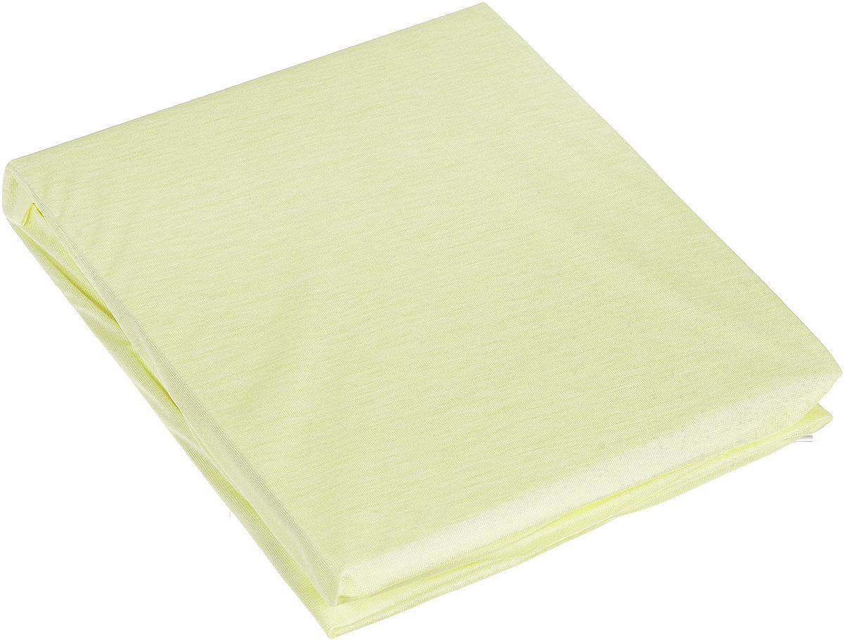 Простыня Hippychick Tencel, на резинке, непромокаемая, цвет: лимонный, 60 см х 120 см2000400035Мягкая простыня на резинке Hippychick Tencel нежного светло-лимонного цвета идеально подойдет для кроватки вашего малыша и обеспечит ему здоровый сон. Простынка с помощью специальной резинки растягивается на матрасе. Она не сомнется и не скомкается, как бы не вертелся малыш, и защитит матрас от протечек с любой стороны. Простыня прекрасно впитывает и не пропускает влагу и обладает дышащими свойствами. Она изготовлена из особой ткани Tencel и впитывает на 50% больше, чем обычная хлопковая простыня. Tencel - натуральное экологически чистое гипоаллергенное вискозное волокно, производимое по сложнейшей технологии из натуральной древесной целлюлозы. Tencel тонкий и гладкий как шелк, прочный как полиэстер, прохладный как лен, теплый как шерсть и впитывает намного больше влаги, чем хлопок. Внутренний водонепроницаемый слой выполнен из полиуретана. В отличие от обычной клеенки он не шуршит и не беспокоит малыша во время сна. Кроме того, полиуретановый слой надежно защищает спящего малыша от пылевых клещей, возбудителей детских аллергических заболеваний. А верхний слой, благодаря особым свойствам ткани, подавляет развитие бактерий и грибков на коже. Поэтому натяжную простыню Hippychick Tencel особенно оценят родители и дети, склонные к различным аллергическим реакциям.Простыня подойдет для матрасов размером 60 см х 120 см. Подарите вашему малышу комфорт и удобство! Подходит для машинной стирки при 60°С. Характеристики: Материал внешнего слоя:тенсел. Материал внутреннего слоя:полиуретан. Цвет: лимонный. Размер: 60 см х 120 см. Изготовитель: Испания.