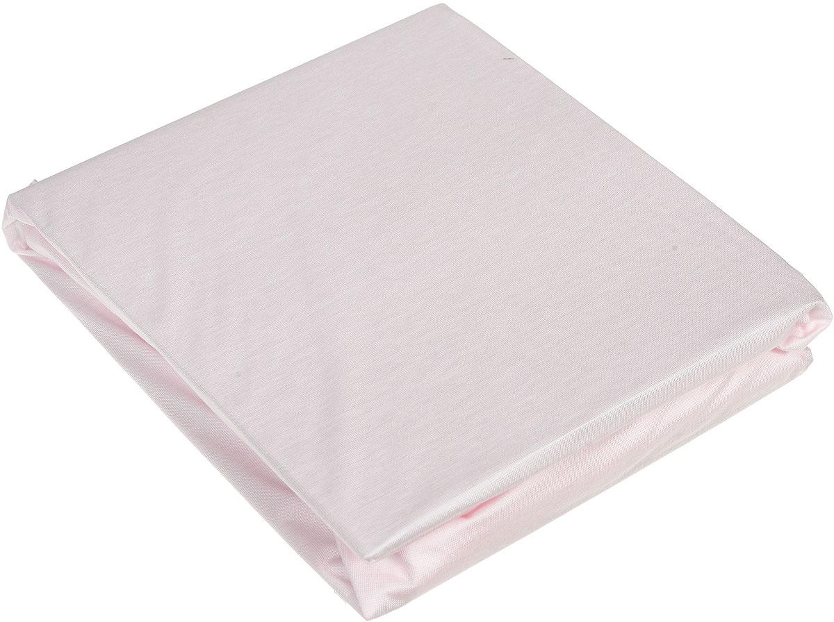 Простыня Hippychick Tencel, на резинке, непромокаемая, цвет: розовый, 70 см х 140 см2000400088Мягкая простыня на резинке Hippychick Tencel нежного розового цвета идеально подойдет для кроватки вашего малыша и обеспечит ему здоровый сон. Простынка с помощью специальной резинки растягивается на матрасе. Она не сомнется и не скомкается, как бы не вертелся малыш, и защитит матрас от протечек с любой стороны. Простыня прекрасно впитывает и не пропускает влагу и обладает дышащими свойствами. Она изготовлена из особой ткани Tencel и впитывает на 50% больше, чем обычная хлопковая простыня. Tencel - натуральное экологически чистое гипоаллергенное вискозное волокно, производимое по сложнейшей технологии из натуральной древесной целлюлозы. Tencel тонкий и гладкий как шелк, прочный как полиэстер, прохладный как лен, теплый как шерсть и впитывает намного больше влаги, чем хлопок. Внутренний водонепроницаемый слой выполнен из полиуретана. В отличие от обычной клеенки он не шуршит и не беспокоит малыша во время сна. Кроме того, полиуретановый слой надежно защищает спящего малыша от пылевых клещей, возбудителей детских аллергических заболеваний. А верхний слой, благодаря особым свойствам ткани, подавляет развитие бактерий и грибков на коже. Поэтому натяжную простыню Hippychick Tencel особенно оценят родители и дети, склонные к различным аллергическим реакциям.Простыня подойдет для матрасов размером 70 см х 140 см. Подарите вашему малышу комфорт и удобство!Подходит для машинной стирки при 60°С. Характеристики: Материал внешнего слоя:тенсел. Материал внутреннего слоя:полиуретан. Цвет: розовый. Размер: 70 см х 140 см. Изготовитель: Испания.
