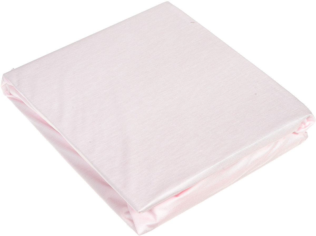 """Мягкая простыня на резинке Hippychick """"Tencel"""" нежного розового цвета идеально подойдет для кроватки вашего малыша и обеспечит ему здоровый сон. Простынка с помощью специальной резинки растягивается на матрасе. Она не сомнется и не скомкается, как бы не вертелся малыш, и защитит матрас от протечек с любой стороны. Простыня прекрасно впитывает и не пропускает влагу и обладает """"дышащими"""" свойствами. Она изготовлена из особой ткани Tencel и впитывает на 50% больше, чем обычная хлопковая простыня. Tencel - натуральное экологически чистое гипоаллергенное вискозное волокно, производимое по сложнейшей технологии из натуральной древесной целлюлозы. Tencel тонкий и гладкий как шелк, прочный как полиэстер, прохладный как лен, теплый как шерсть и впитывает намного больше влаги, чем хлопок.   Внутренний водонепроницаемый слой выполнен из полиуретана. В отличие от обычной клеенки он не шуршит и не беспокоит малыша во время сна. Кроме того, полиуретановый слой надежно защищает спящего малыша от пылевых клещей, возбудителей детских аллергических заболеваний. А верхний слой, благодаря особым свойствам ткани, подавляет развитие бактерий и грибков на коже. Поэтому натяжную простыню Hippychick """"Tencel"""" особенно оценят родители и дети, склонные к различным аллергическим реакциям.    Простыня подойдет для матрасов размером 60 см х 120 см. Подарите вашему малышу комфорт и удобство!   Подходит для машинной стирки при 60°С. Характеристики:   Материал внешнего слоя:  тенсел. Материал внутреннего слоя:  полиуретан. Цвет: розовый. Размер: 60 см х 120 см. Изготовитель: Испания."""