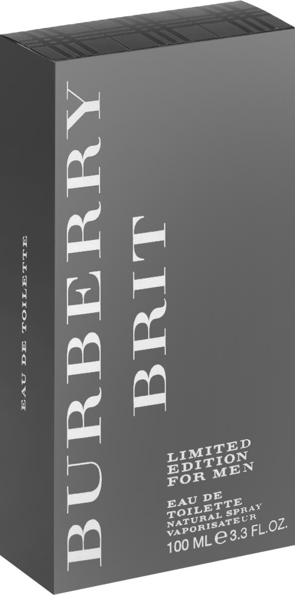 Burberry Brit  Туалетная вода мужская, 100 мл burberry парфюмированная вода burberry weekend 15 ml