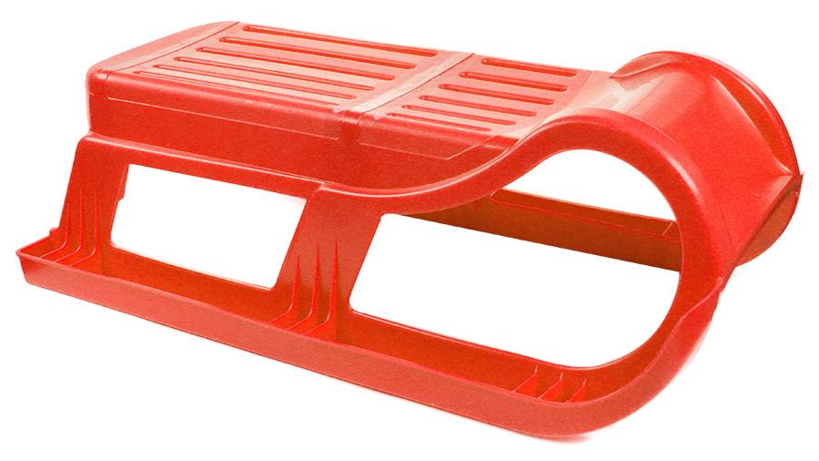 Санки Снежная звезда без спинкиПл-С90Санки из пластика без спинки, размер: 27,5 х 40 х 80 см.