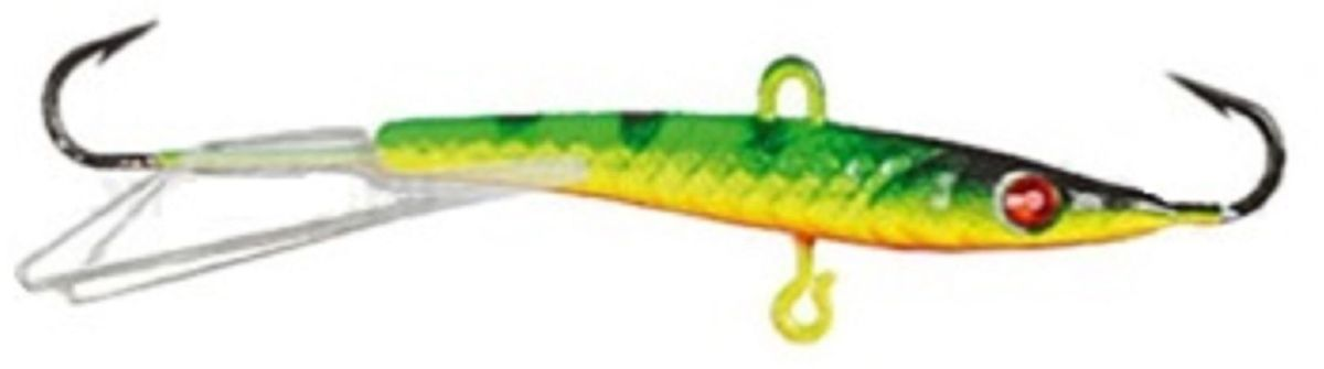 Балансир Finnex. Swarovski, длина 6 см, вес 7 г. BLS-06-ZETBLS-06-ZETБалансир Finnex. Swarovski удлиненной формы с игрой широкого радиуса и наклонами на поворотах, предназначен для ловли на мелководье и в стоячей воде, в основном для ловли окуня. Форма этого балансира напоминает мелкую рыбку. Балансир оснащен глазком из кристалла Swarovski, что делает его более заметным, что позволяет привлечь рыбу с более дальнего расстояния.