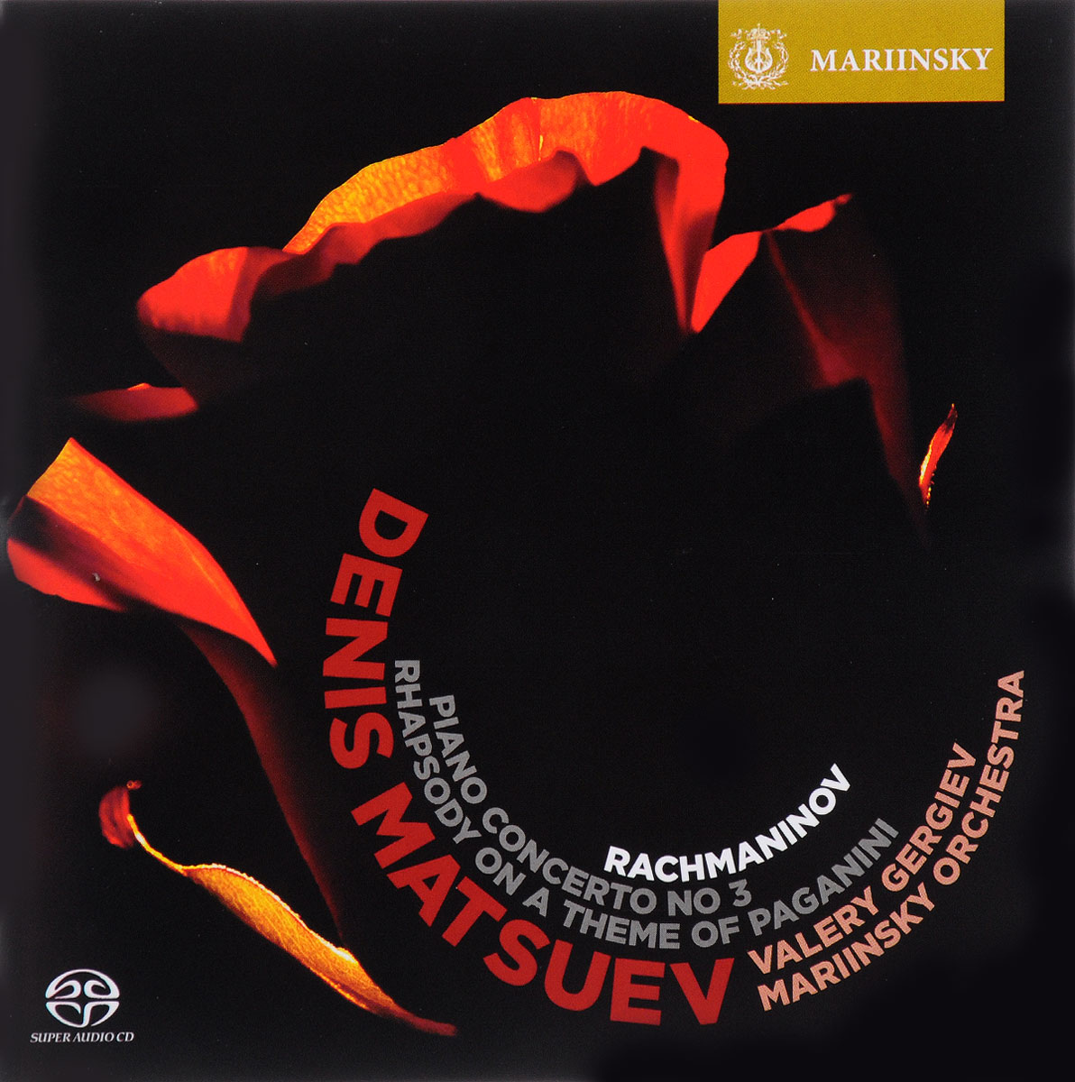 Денис Мацуев Valery Gergiev. Denis Matsuev. Rachmaninov. Rhapsody on a Theme of Paganini / Piano Concerto №3 футболка wearcraft premium slim fit printio алхимик