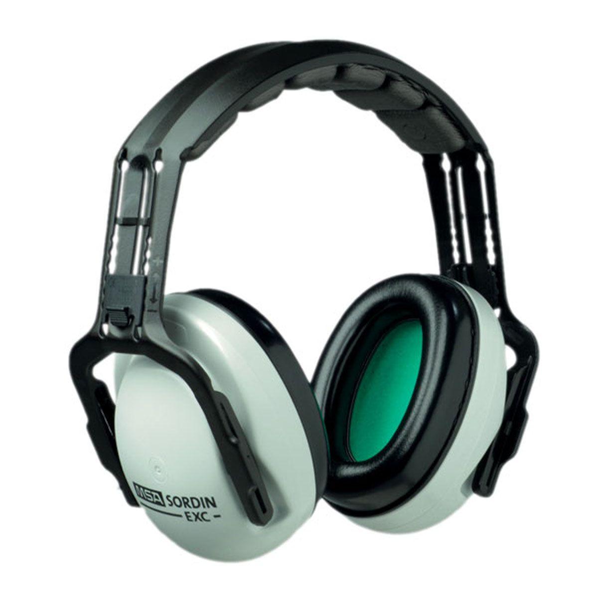 Наушники для стрельбы MSA Sordin EXC, пассивные, с креплением к каскеSOR200100 МЕЕЭти наушники настолько удобны, что Вы не захотите с ними расставаться! Уникальные литые вкладыши обеспечивают исключительное шумоподавление и максимальный комфорт. EXC пригодны для всех областей применения, требующих защиты органов слуха.EN 352-1, EN 352-3С держателем: акустическая эффективность 27 дБ, В = 31, С = 24, Н = 16