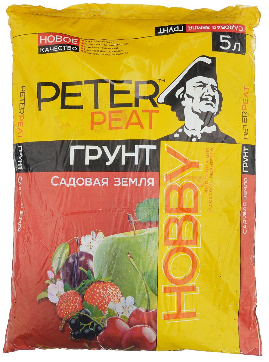 """Peter Peat """"Садовая земля"""" - это готовый к использованию питательный торфяной грунт. Предназначен для выращивания рассады овощных и цветочных культур, комнатных растений, садовых цветов, плодовых деревьев и ягодных кустарников. Способствует приживаемости растений, повышает урожайность."""