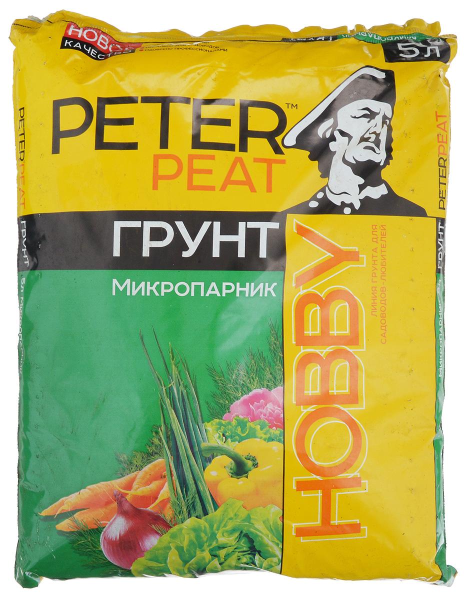 """Грунт Peter Peat """"Микропарник"""" - это полностью готовый к использованию питательный торфяной грунт. Грунт предназначен для выращивания рассады овощных и цветочных культур, а также применяется в качестве готовой емкости для выращивания в домашних условиях зеленых культур (салата, петрушки, лука, укропа). Грунт улучшает всхожесть семян, повышает урожайность."""