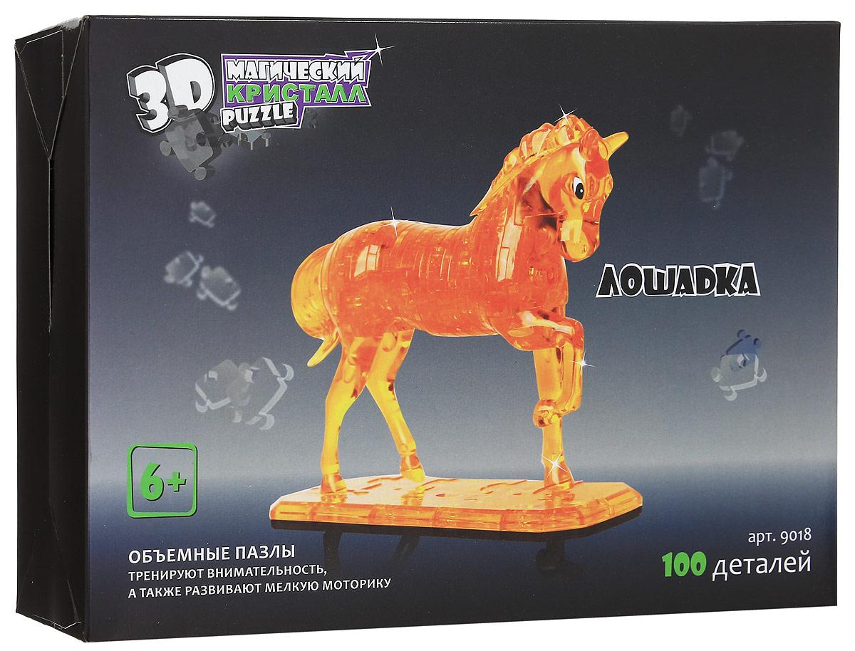 3D Puzzle Магический Кристалл 3D Пазл Лошадка