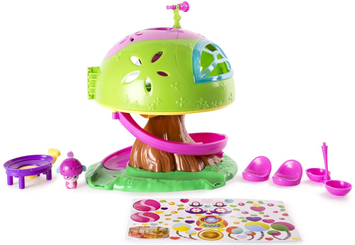 Popples Игровой набор Дом на дереве