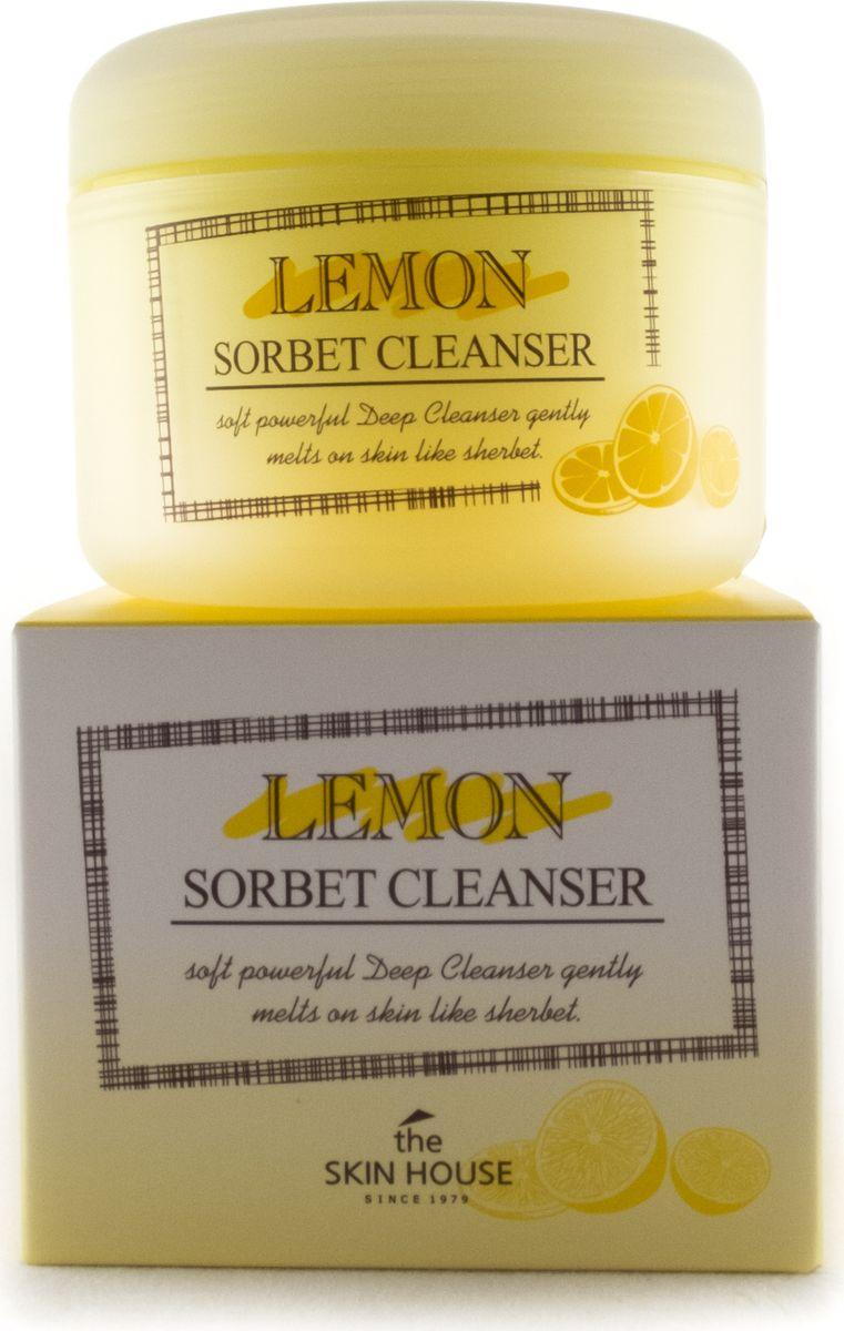 The Skin House Очищающий сорбет с экстрактом лимона, 100 мл823019Очищающий сорбет с экстрактом лимона Сорбет для умывания и снятия макияжа, его текстура тает на коже, подобно мороженому, эффективно очищая от макияжа.