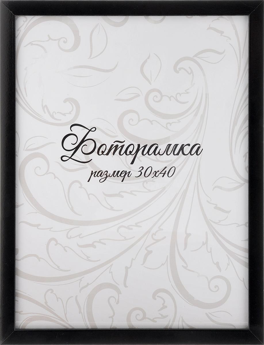 Фоторамка Tabula Rossa Глянец, цвет: черный, 30 х 40 см блузка moda rossa