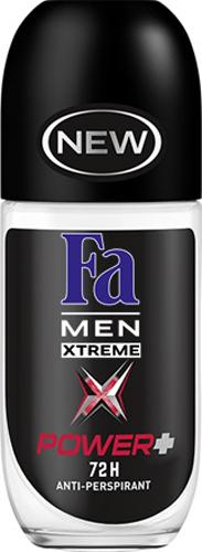 Fa Men Дезодорант-антиперспирант роликовый Xtreme Power+ 50мл fa дезодорант антиперспирант роликовый прозрачная защита 50мл