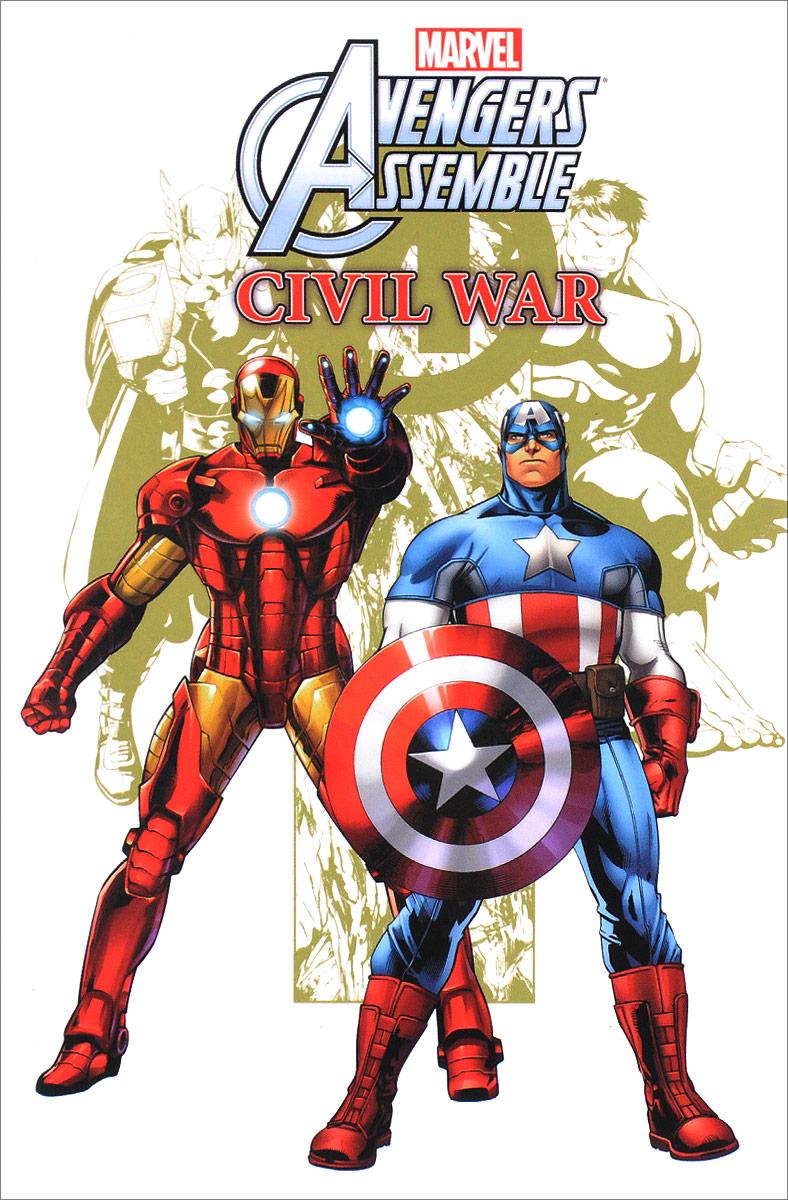 Marvel Universe Avengers Assemble: Civil War deconnick kelly sue avengers assemble