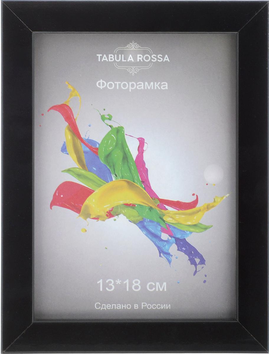 Фоторамка Tabula Rossa, цвет: черный, 13 х 18 см фоторамка tabula rossa металлик цвет серебристый 21 х 30 см
