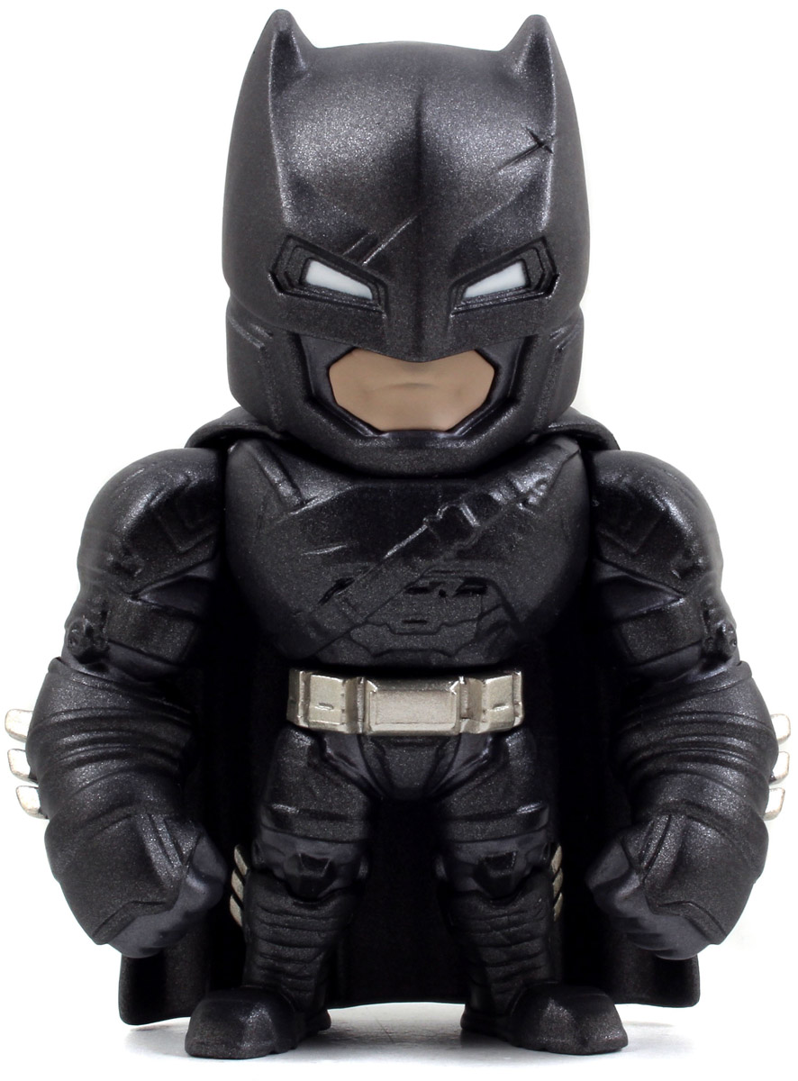 Фигурка металлическая Armored Batman 10 см фигурка jada armored batman 10 см металлическая