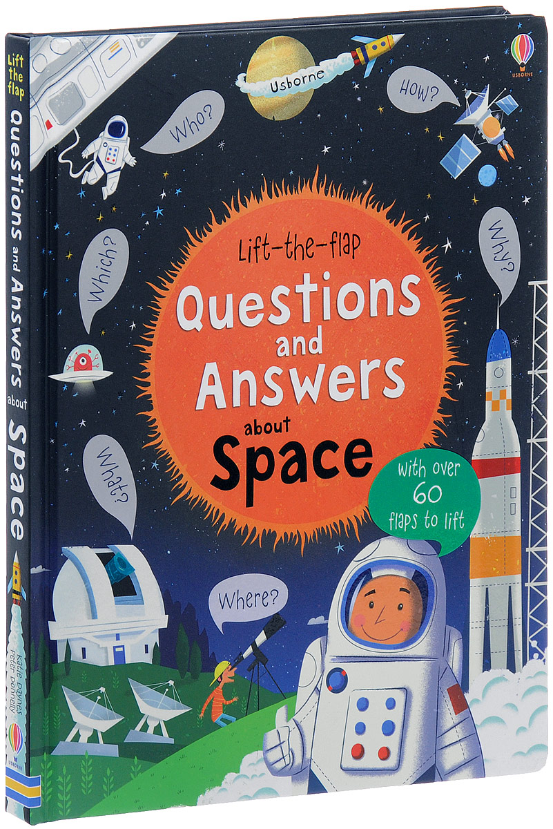 Lift-the-Flap: Questions And Answers About Space цена