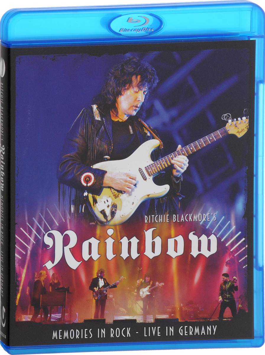 Rainbow: Memories In Rock. Live In Germany (Blu-ray) cicero sings sinatra live in hamburg blu ray