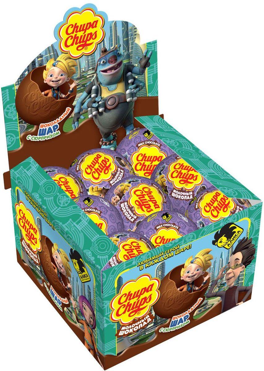 Chupa Chups Алиса молочный шоколад, 18 шт по 20 г nano gum чупа чупс 25 гр с ароматом чупа чупс