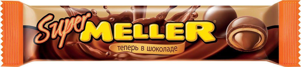 Super Meller ирис с шоколадной начинкой, 36 г8252658Новый Meller – это классический ирис с шоколадной начинкой, покрытый шоколадной глазурью. В одной упаковке 6 конфет.