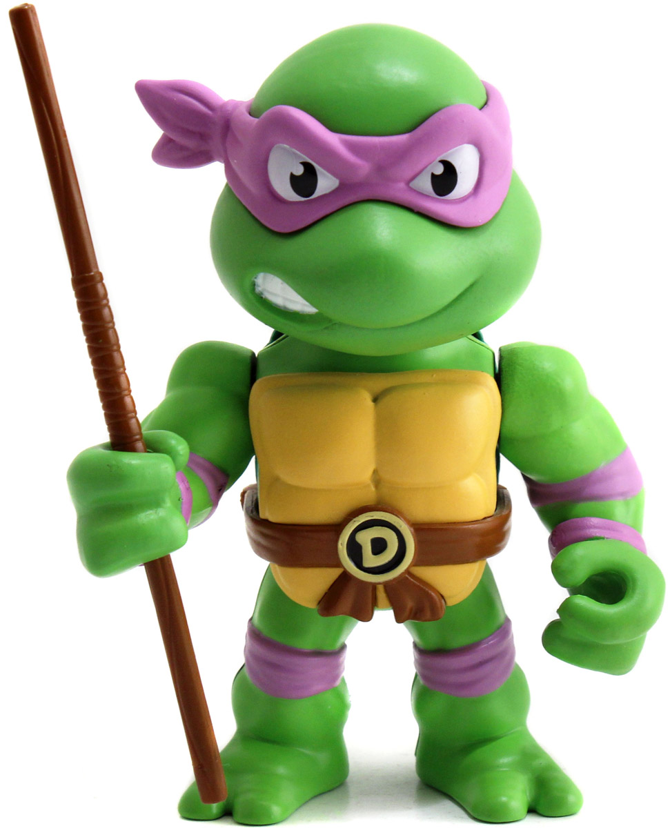 TMNT. Фигурка металлическая Donatello, 10 см фигурка jada joker boss 10 см металлическая