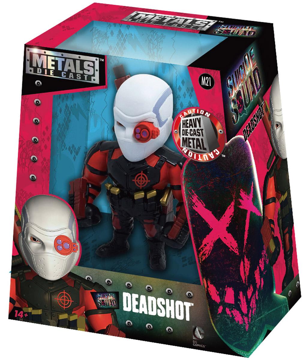DC Comics. Фигурка металлическая Deadshot, 10 см 1С-СофтКлаб