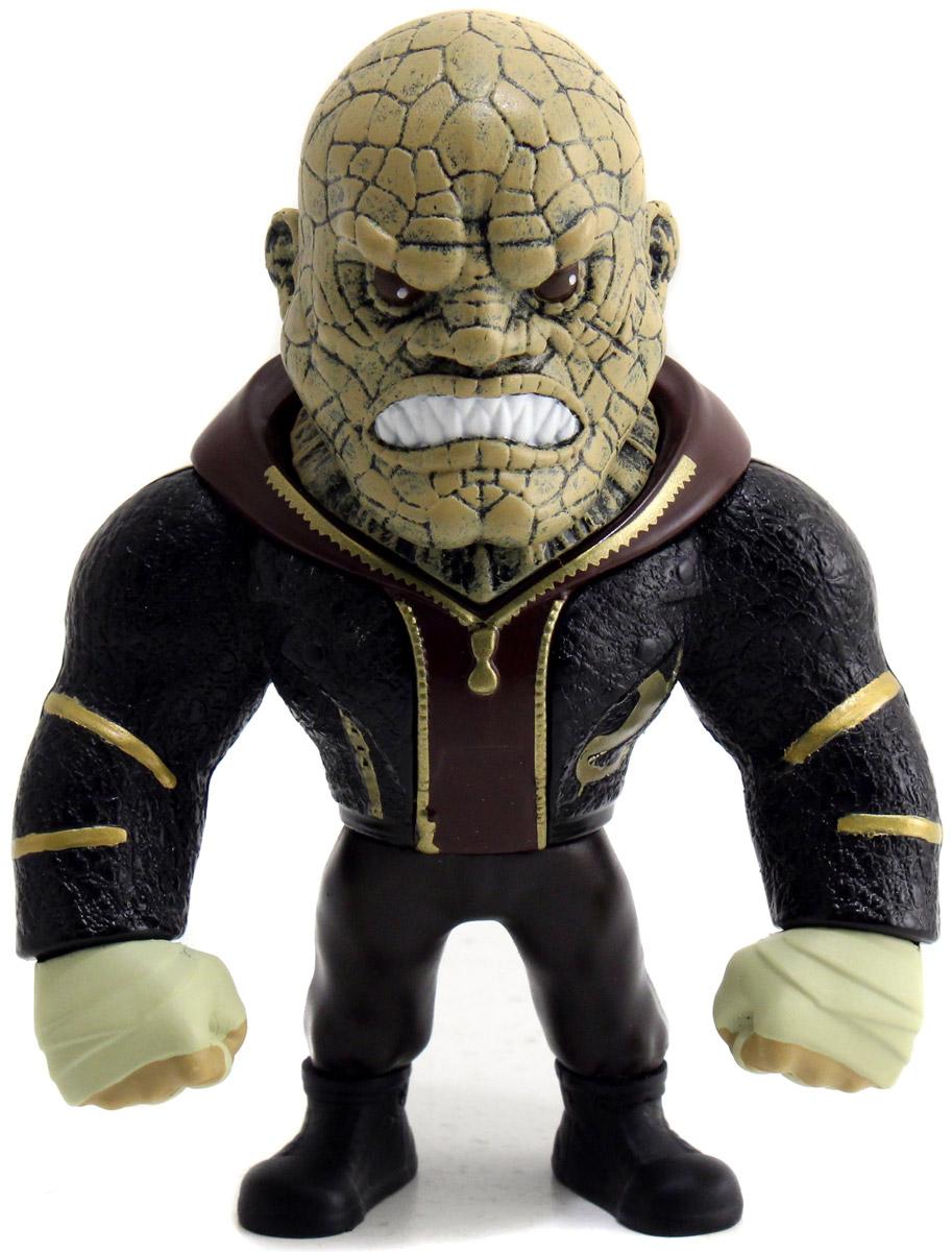 DC Comics. Фигурка металлическая Killer Croc, 10 см фигурка jada joker boss 10 см металлическая