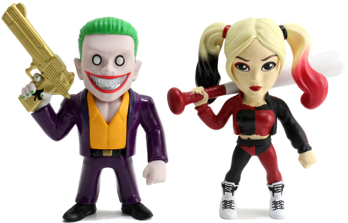 DC Comics. Набор фигурок  Joker Boss + Harley Quinn, 10 см, 1С-СофтКлаб