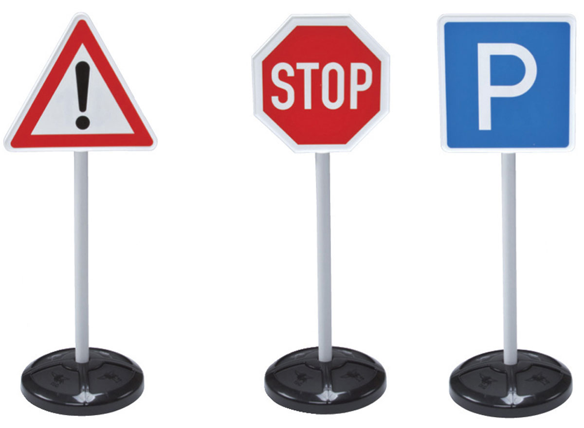 Big Игровой набор Дорожные знаки Traffic Signs лодка simba dickie гоночная в ассортименте