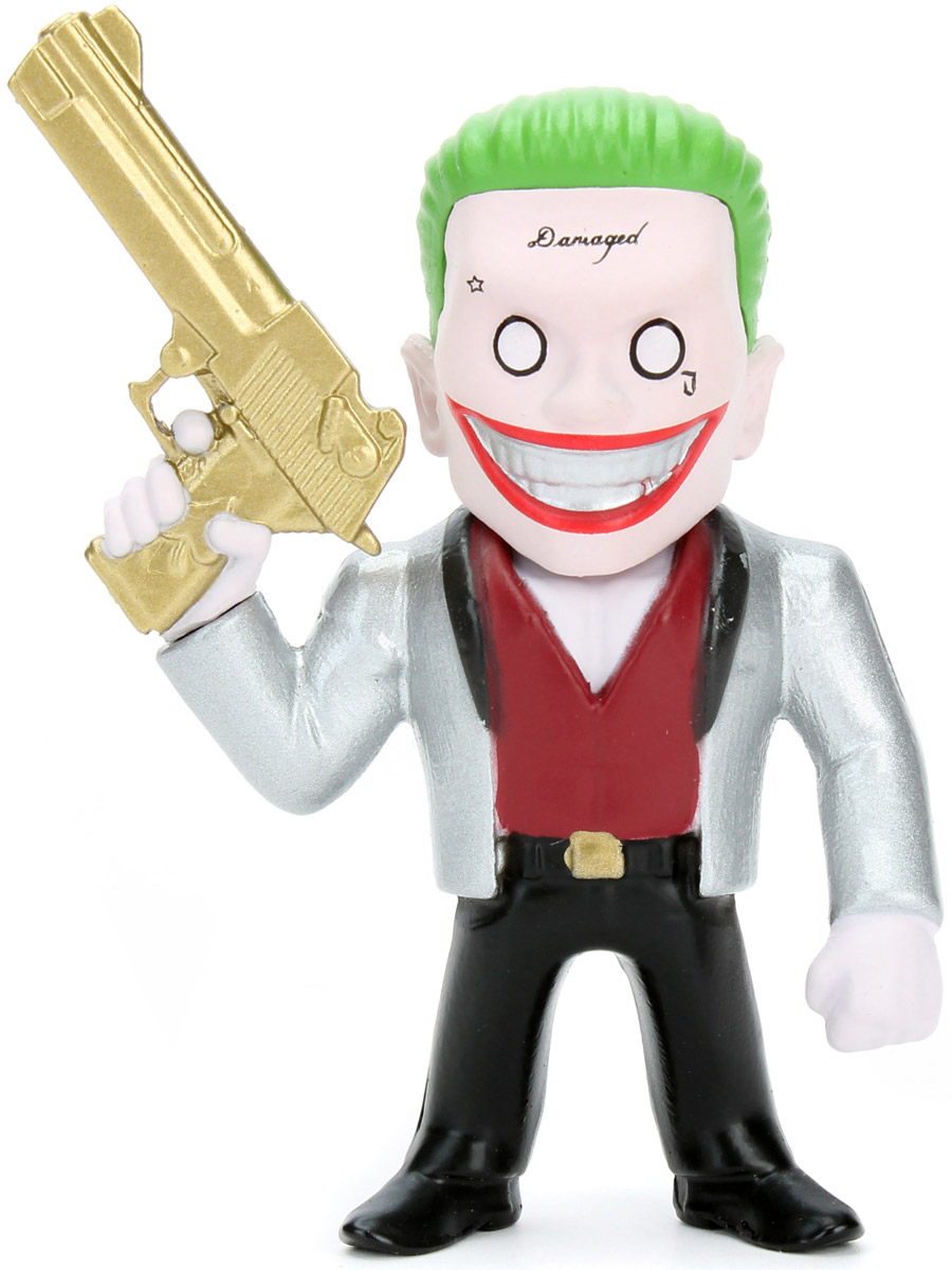 DC Comics. Фигурка металлическая Joker Boss, 6 см  dc comics фигурка the joker