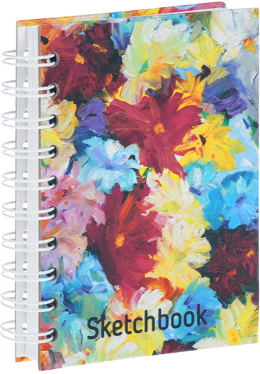 Цветы. Скетчбук леонардо скетчбук