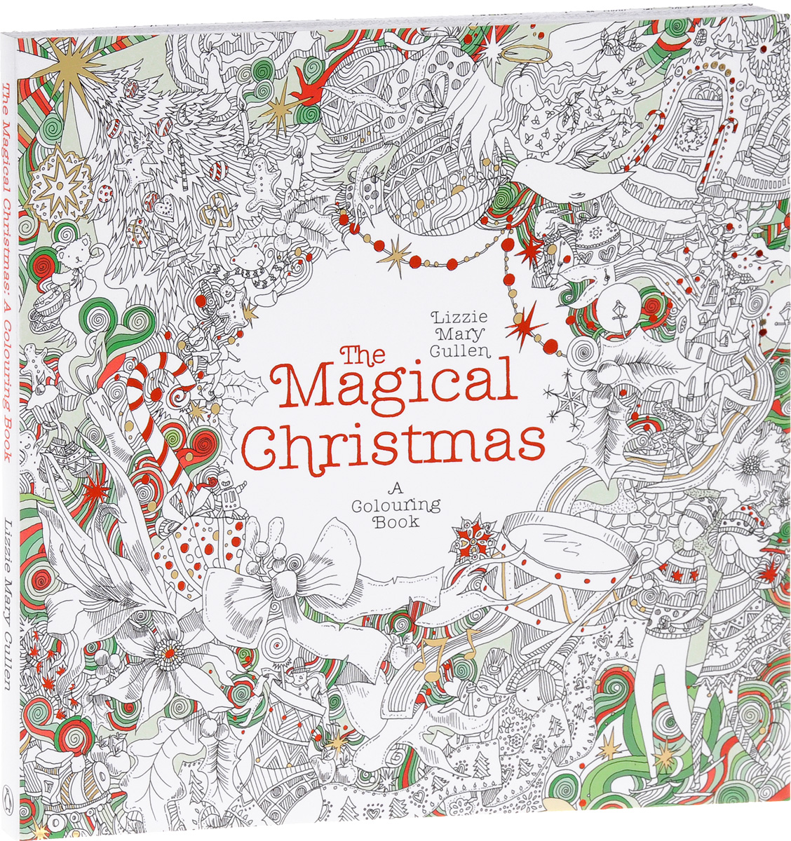The Magical Christmas: A Colouring Book die hard the official colouring book