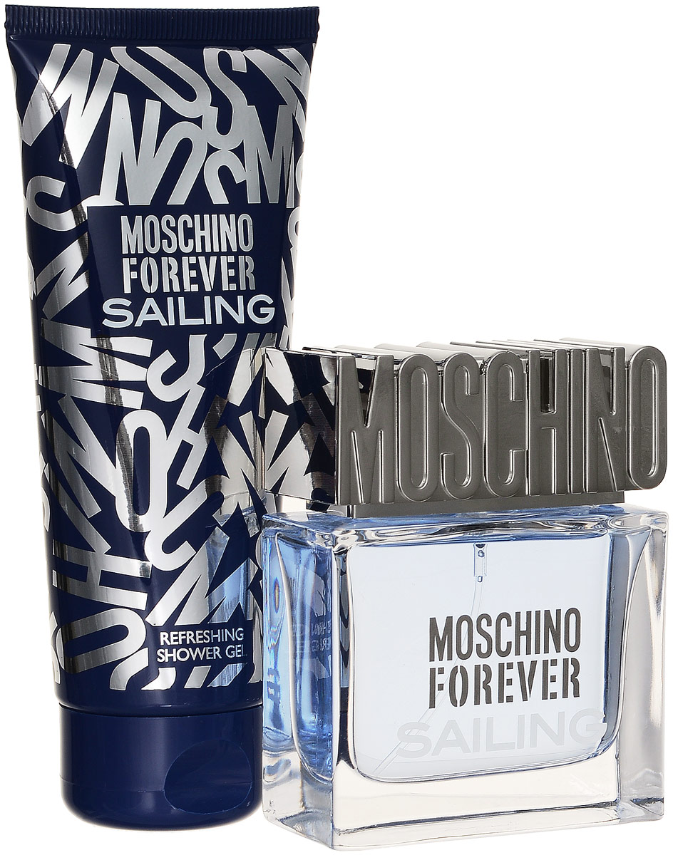 Moschino Sailing - Набор Туалетная вода50мл +косметичка + гель для душа 100млMoschino SailMS141