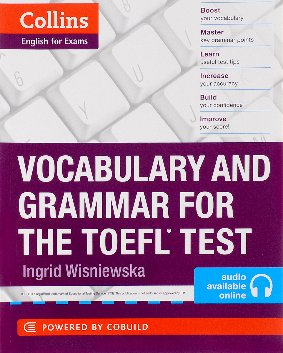 Collins Vocabulary and Grammar for the TOEFL Test the keys for english grammar reference and practice and english grammar test file ключи