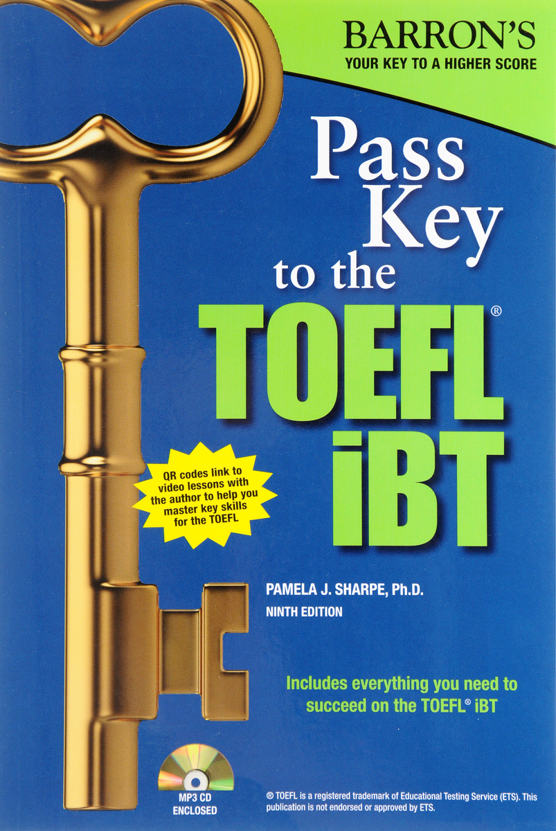 Pass Key to the TOEFL iBT (+ CD) barron s toefl ibt 2 cd rom
