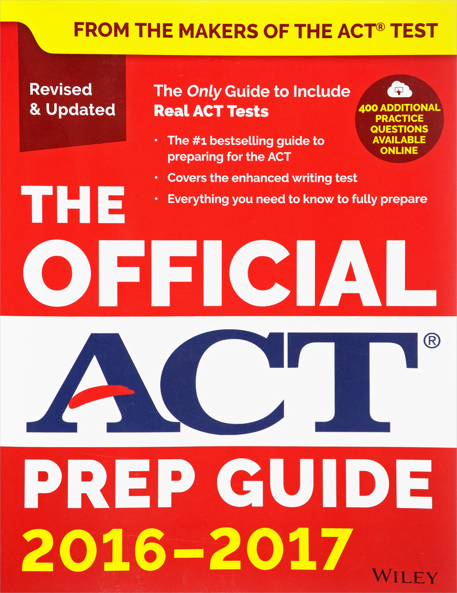 The Official ACT Prep Guide: 2016 - 2017 the mirror test