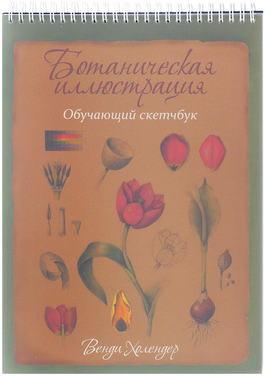 Zakazat.ru: Ботаническая иллюстрация. Обучающий скетчбук. Венди Холендер