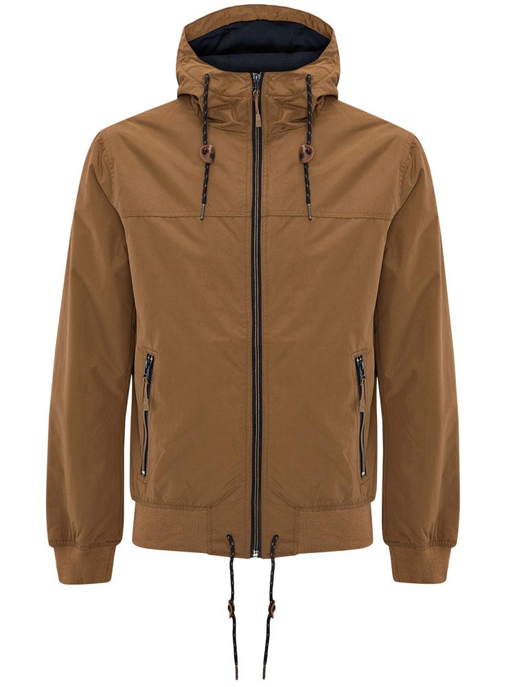 Куртка мужская oodji, цвет: темно-бежевый. 1L512014M/25276N/3500N. Размер XL-182 (56-182)  oodji 55813777b 45616 3500n