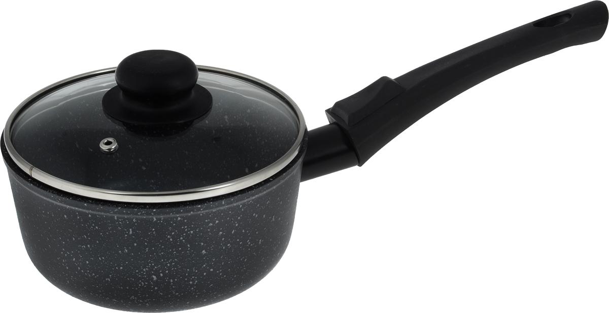 Ковш Casta Megapolis с крышкой, с антипригарным покрытием, со съемной ручкой, 1 л2с15/1_белыйКовш Casta Megapolis изготовлен из алюминия свысококачественным антипригарным покрытием,предотвращающим пригорание пищи. Ковш быстронагревается и дольше сохраняет продукты горячими.Термостойкая бакелитовая ручка обеспечивает комфортноеиспользование.Крышка, выполненная из термостойкого стекла, позволит вамследить за процессом приготовления пищи. Крышкаоснащена металлическим ободом и отверстием для выпускапара.Ковш можно использовать на стеклокерамических,электрических и газовых плитах. Можно мыть впосудомоечной машине.Диаметр (по верхнему краю): 17 см.Высота стенки: 8 см.Длина ручки: 20 см.
