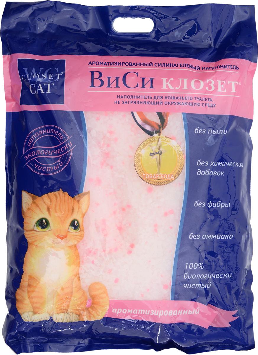 Наполнитель для кошачьего туалета  ВиСи Клозет , силикагелевый, ароматизированный, 16 л