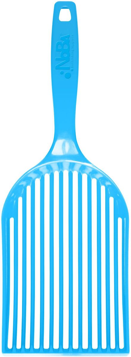 Совок-эко для кошачьего туалета Canada Litter Нано люкс, цвет: голубой совок для кошачьего туалета marchioro pala 11