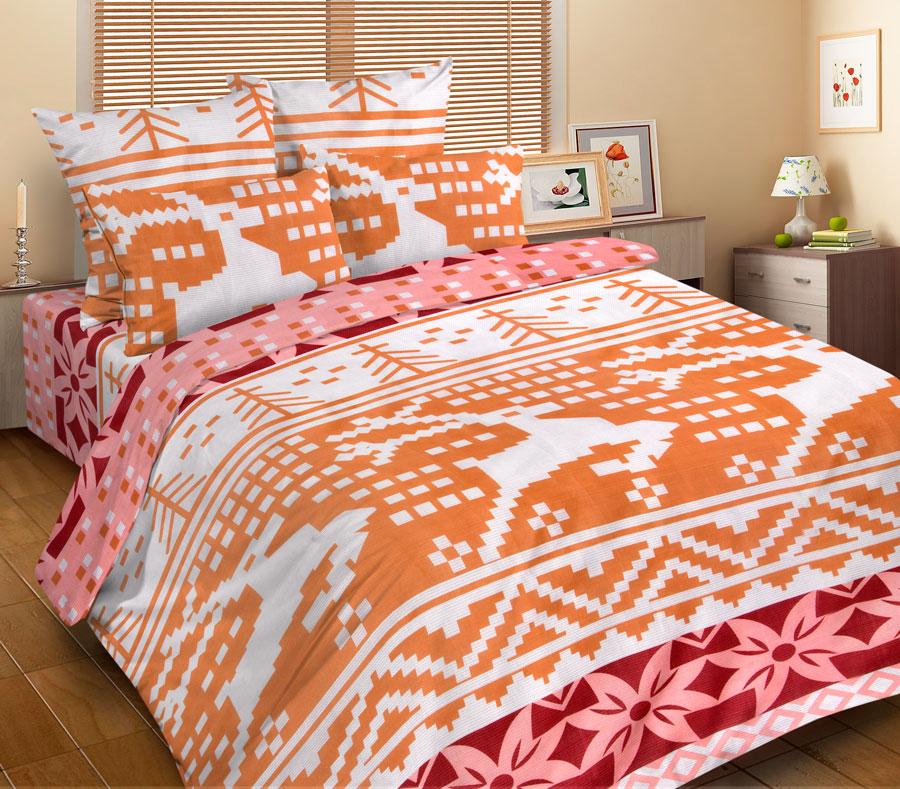 """Комплект постельного белья Guten Morgen   """"Аляска"""", изготовленный из микрофибры (100%   полиэстер), поможет вам расслабиться и подарит   спокойный сон. Комплект состоит из двух пододеяльников,   простыни и двух наволочек.  Благодаря такому комплекту постельного белья вы   сможете создать атмосферу уюта и комфорта в   вашей спальне.   Ткань """"микрофибра"""" - новая технология в   производстве постельного белья. Тонкие волокна,   используемые в ткани, производят путем   переработки полиамида и полиэстера. Такая нить   не впитывает влагу, как хлопок, а пропускает ее   через себя, и влага быстро испаряется. Изделие не   деформируется и хорошо держит форму.      Советы по выбору постельного белья от блогера Ирины Соковых. Статья OZON Гид"""