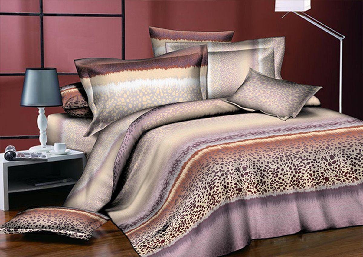 Комплект белья Guten Morgen, 2-спальный с европростыней, наволочки 70х70. А-753-175-220-70 комплект жасмина размер 2 0 спальный с европростыней