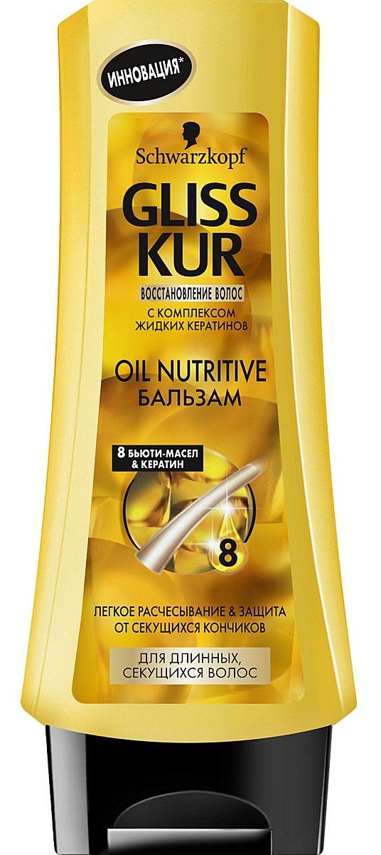 Gliss Kur Бальзам Oil Nutritive, для длинных, секущихся волос, 200 мл9261575Линия Gliss Kur Oil Nutritive особенно подходит для длинных, секущихся волос.Обогащенная формула, содержащая 7 питательных масел, ухаживает за кончиками волос и защищает волосы от сечения. Кроме того, инновационная формула точно восстанавливает структуру волос, заполняя поврежденные участки жидкими кератинами, идентичными натуральному кератину волос.Бальзам Gliss Kur Oil Nutritive придает длинным, секущимся волосам легкость расчесывания и сокращает сечение волос до 90%. Характеристики:Объем: 200 мл. Артикул: 1680448. Производитель: Россия. Товар сертифицирован.