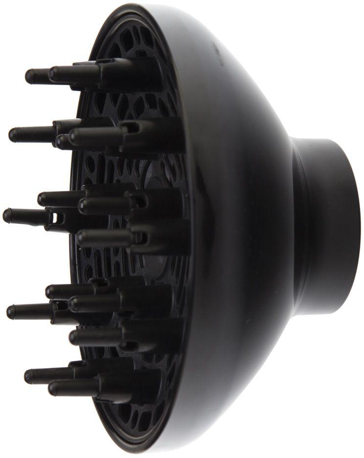 Dewal 03-Dif109/007, Black диффузор для фена03-Dif109/007Диффузор марки Dewal изготовлен из высококачественного термостойкого пластика, который обеспечит его долгую эксплуатацию. Использование диффузора значительно ускоряет процесс сушки и придает дополнительный объем у корней волос. За счет более широкого распределения потока воздуха волосы высыхают быстрее, а температурное влияние на структуру волос снижается.Подходит для моделей: 03-109; 03-007.