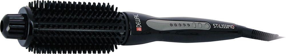 Dewal 03-305 Stilissimo 2, Black щипцы для завивки волос03-305Завить красивые локоны можно максимально просто, если воспользоваться удобными электрощипцами Dewal 03-305 Stilissimo 2. Это устройствовыделяется на фоне многочисленных аналогов привлекательным внешним видом, удобным управлением, возможностью регулировки степенинагрева, а также качественным покрытием насадки, которое не повреждает волосы и сохраняет их природное здоровье. Электрощипцы Dewal 03- 305 Stilissimo 2 станут прекрасным дополнением к устройствам для укладки волос.